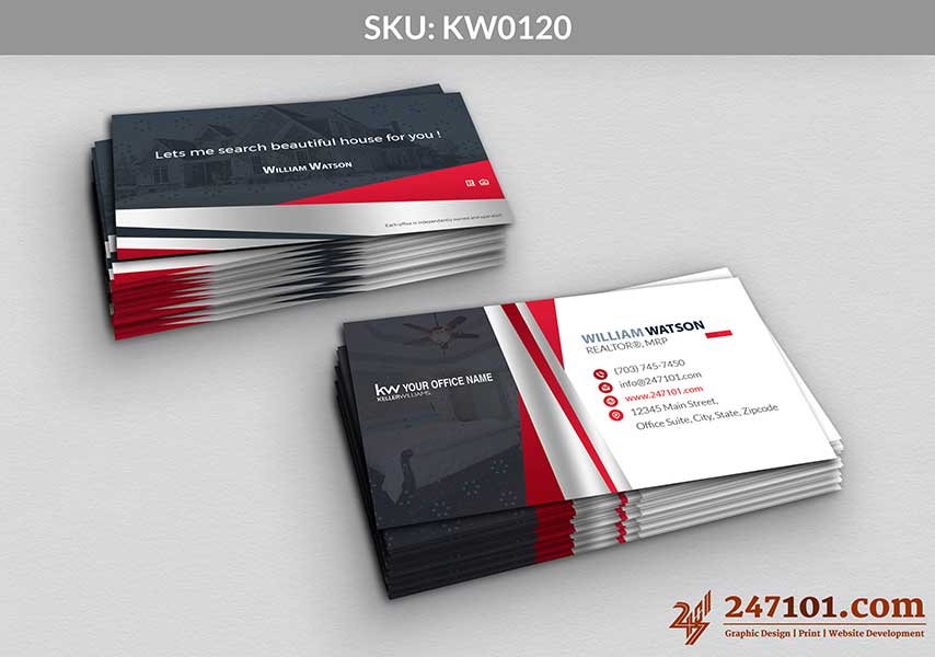 Keller Williams - Business Cards - 247101 - 0120