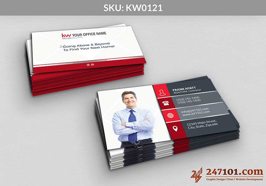 Keller Williams - Business Cards - 247101 - 0121