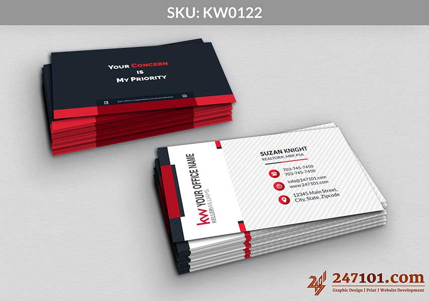 Keller Williams - Business Cards - 247101 - 0122