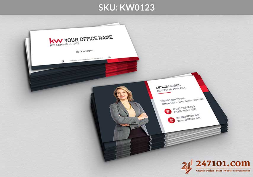 Keller Williams - Business Cards - 247101 - 0123