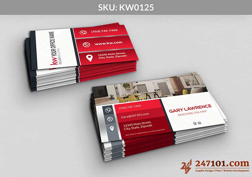 Keller Williams - Business Cards - 247101 - 0125