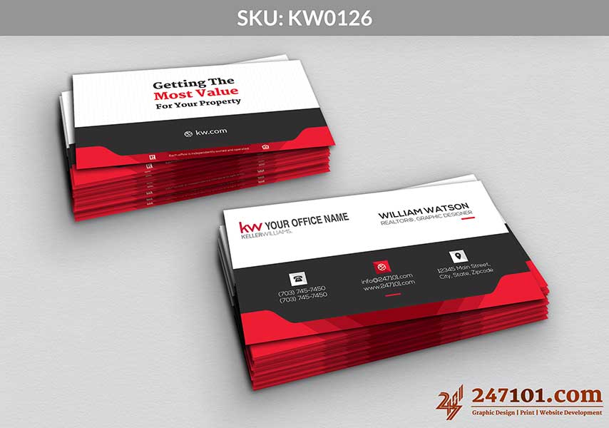 Keller Williams - Business Cards - 247101 - 0126