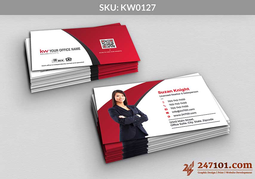 Keller Williams - Business Cards - 247101 - 0127
