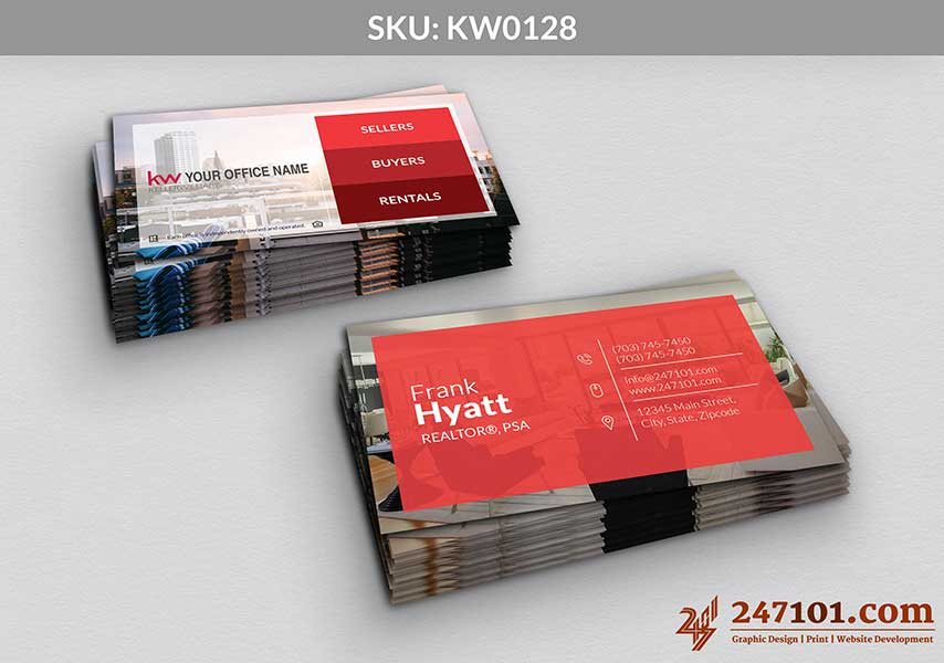 Keller Williams - Business Cards - 247101 - 0128