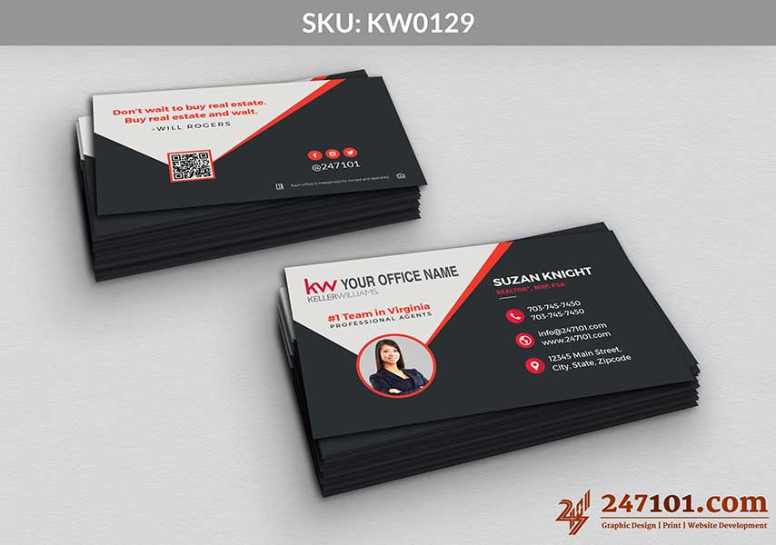 Keller Williams - Business Cards - 247101 - 0129