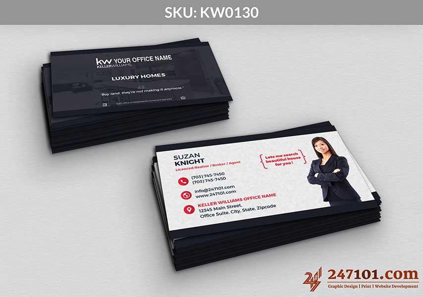 Keller Williams - Business Cards - 247101 - 0130