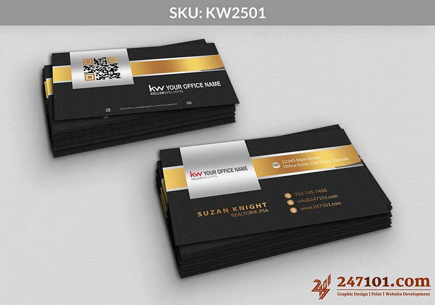 Keller Williams - Business Cards - 247101 - 2501