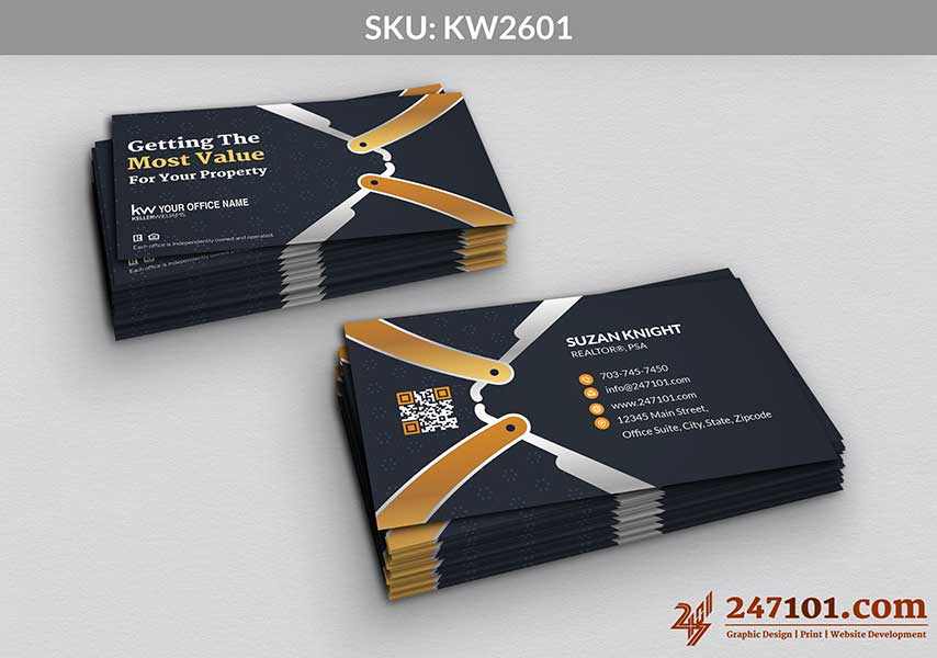 Keller Williams - Business Cards - 247101 - 2601
