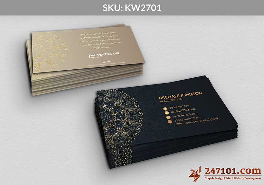 Keller Williams - Business Cards - 247101 - 2701