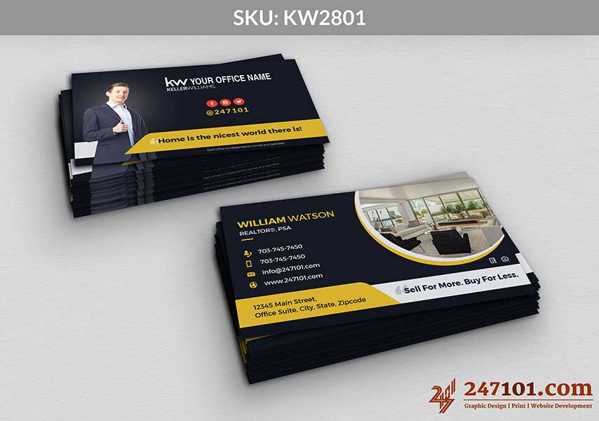 Keller Williams - Business Cards - 247101 - 2801