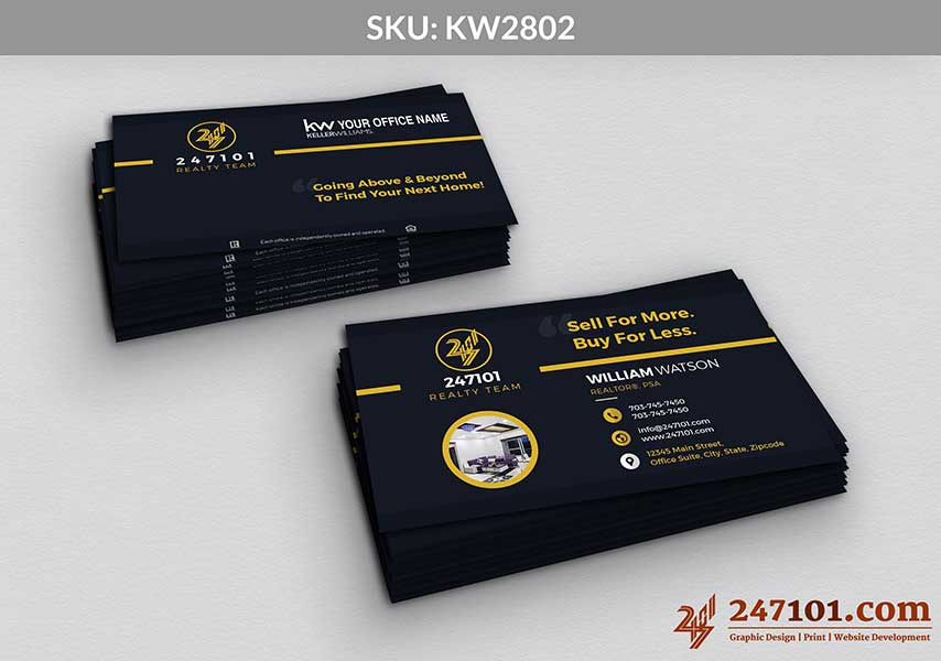 Keller Williams - Business Cards - 247101 - 2802