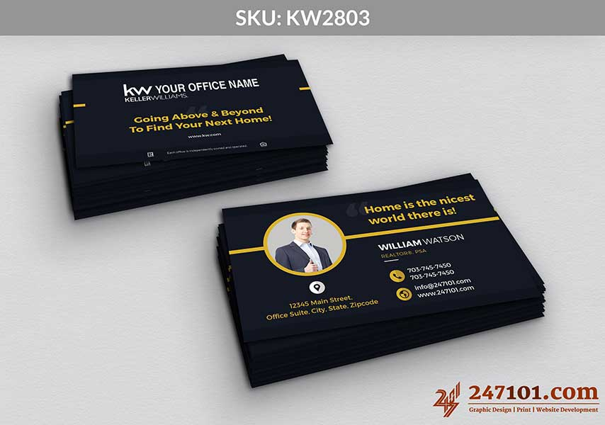 Keller Williams - Business Cards - 247101 - 2803