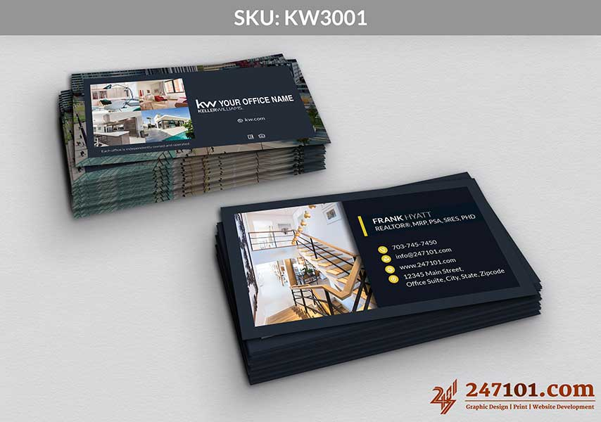 Keller Williams - Business Cards - 247101 - 3001