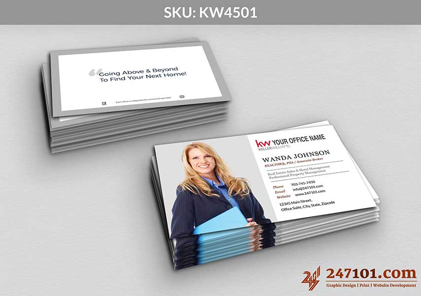 Keller Williams - Business Cards - 247101 - 4501