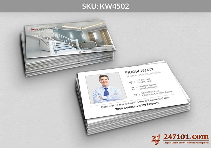Keller Williams - Business Cards - 247101 - 4502