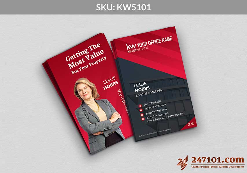 Keller Williams - Business Cards - 247101 - 5101