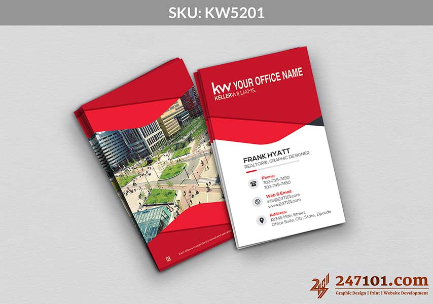 Keller Williams - Business Cards - 247101 - 5201