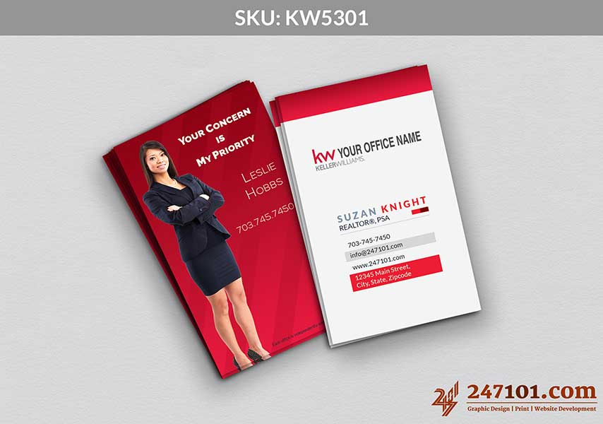 Keller Williams - Business Cards - 247101 - 5301