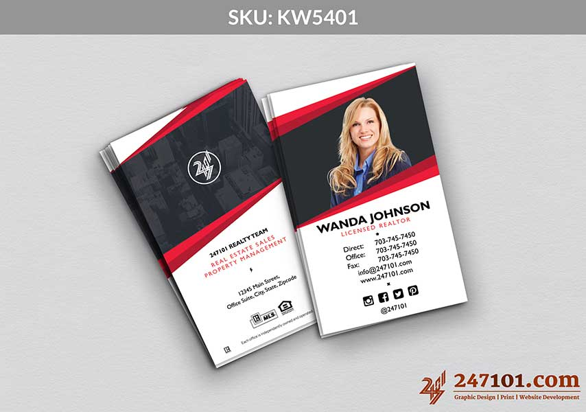 Keller Williams - Business Cards - 247101 - 5401