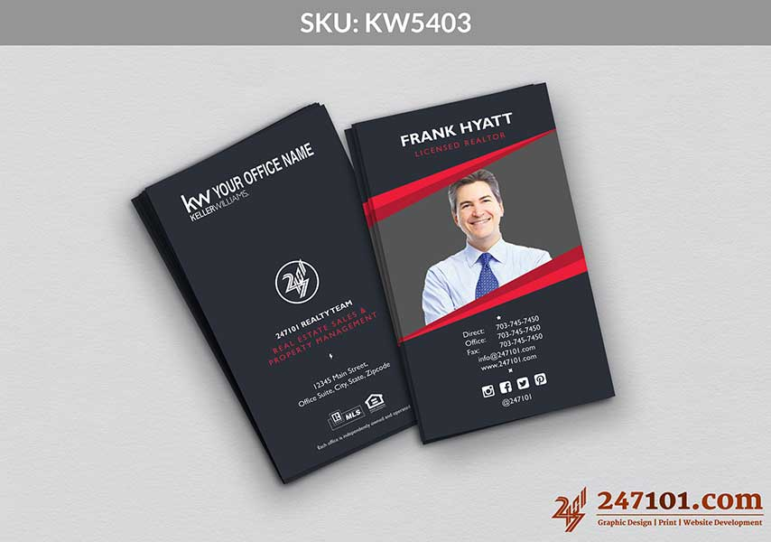 Keller Williams - Business Cards - 247101 - 5403