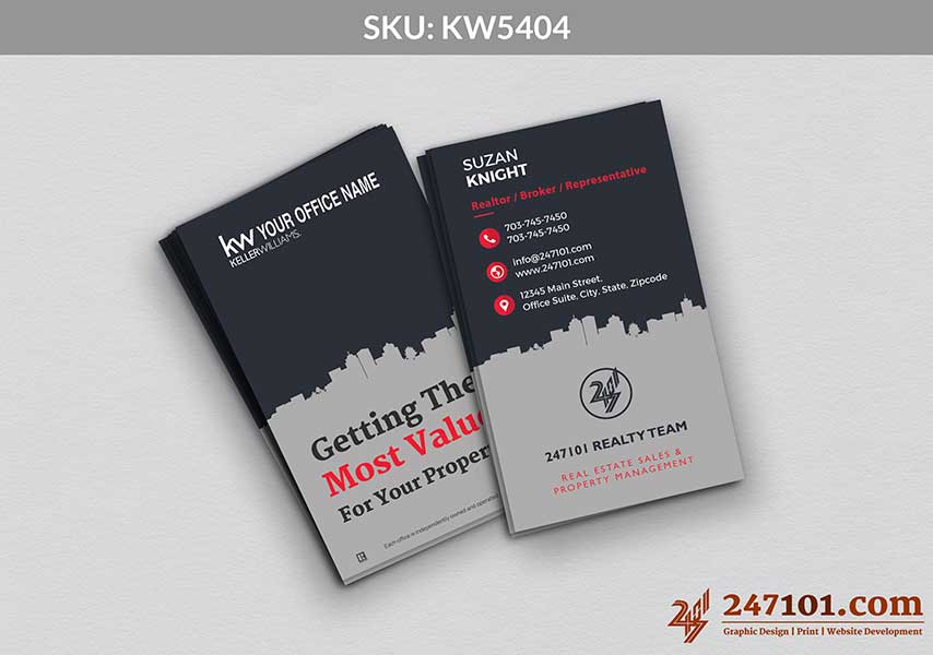 Keller Williams - Business Cards - 247101 - 5404