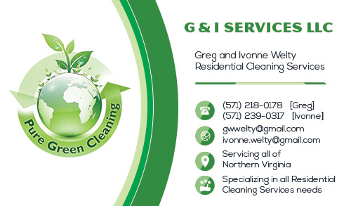 247101.com - Cleaning Business Cards