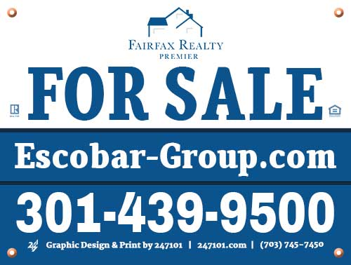 Real Estate Yard Signs - Matt Escobar