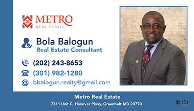 Bola Balogun-Metro Real Estate - Magnets