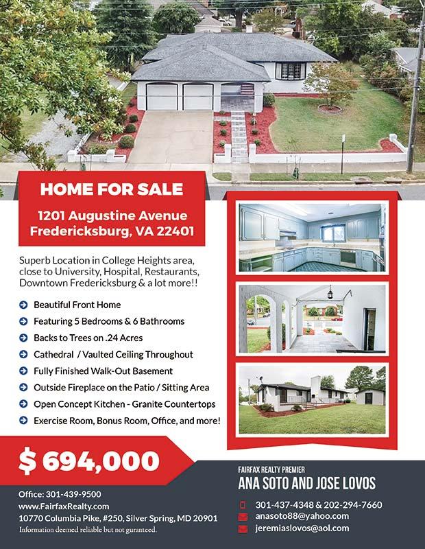 247101 Flyers - Fairfax Realty - 1201 Augustine Avenue