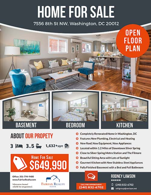 247101 Flyers - Fairfax Realty - 7556 8th St NW Washington DC