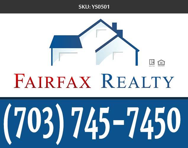247101.com - Fairfax Realty Yard Signs