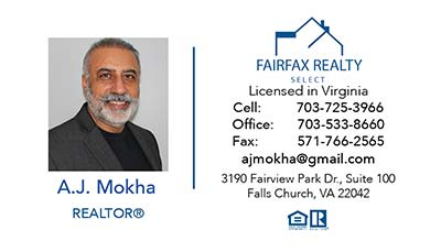 Fairfax Realty - 247101 Business Cards