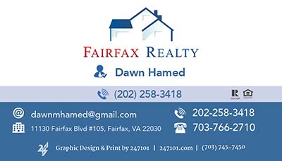 Fairfax Realty - Magnets - Dawn Hamed