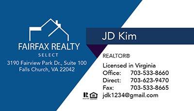 247101.com - Fairfax Realty Business Cards247101.com - Fairfax Realty Business Cards