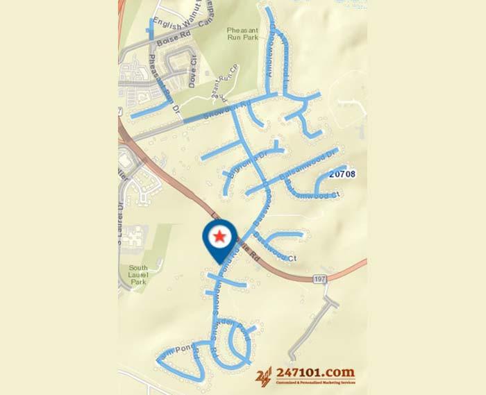 Mailing Route - Janet Liriano - 10103 Mallard