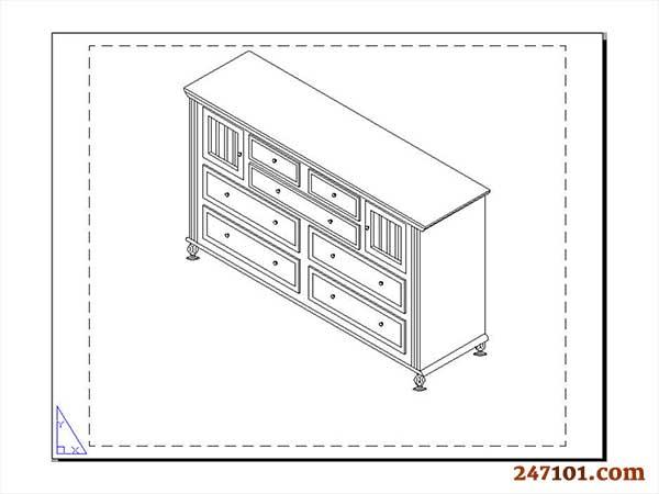 247101 Portfolio - 2D & 3D Modeling