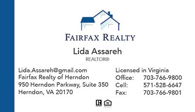 Business Cards - Lida Assareh