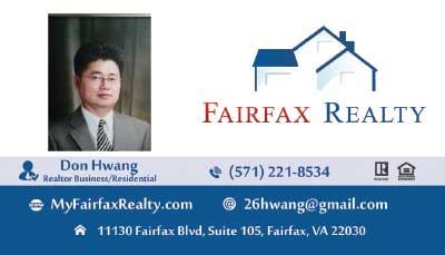 Fairfax Realty - Clients Don Hwang