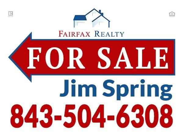 Yard Sign - Jim Spring
