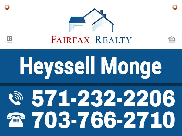 Yard Sign - Agent - Heyssell Monge