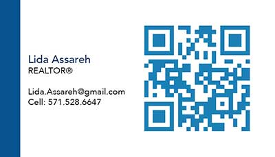Fairfax Realty - Business Cards - Lida Assareh