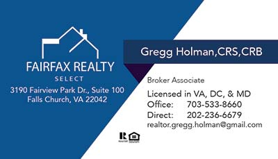 Business Cards - Gregg Holman