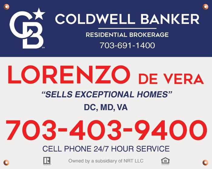 Coldwell Banker Yard Signs