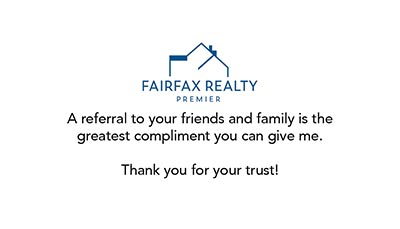 Business Cards - Fairfax Realty Premier