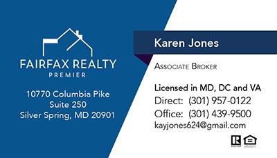 Business Cards Karen Jones