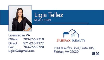Business Cards - Ligia Tellez
