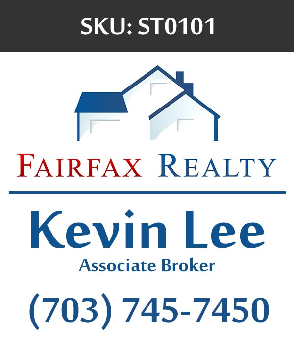 Fairfax Realty - Stickers Labels for Realtors - ST0101
