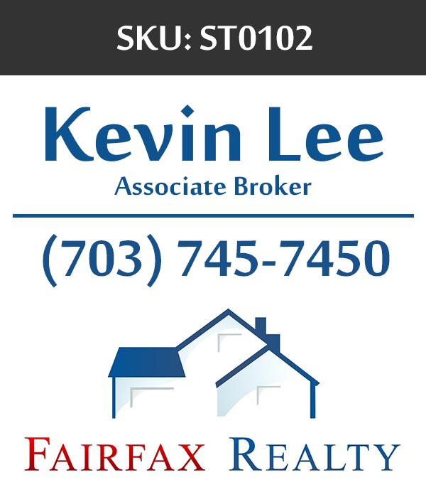 Fairfax Realty - Stickers Labels for Realtors - ST0102