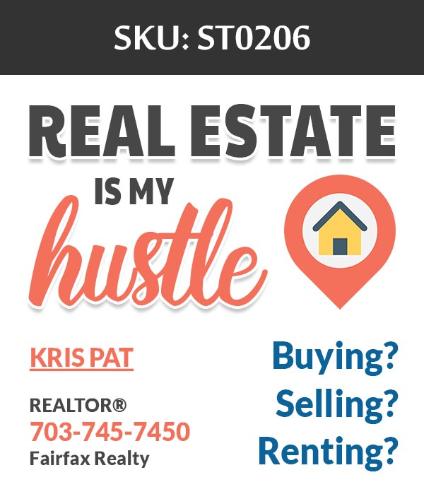 Fairfax Realty - Stickers Labels for Realtors - ST0206