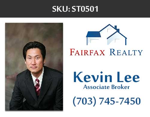 Fairfax Realty - Stickers Labels for Realtors - ST0501